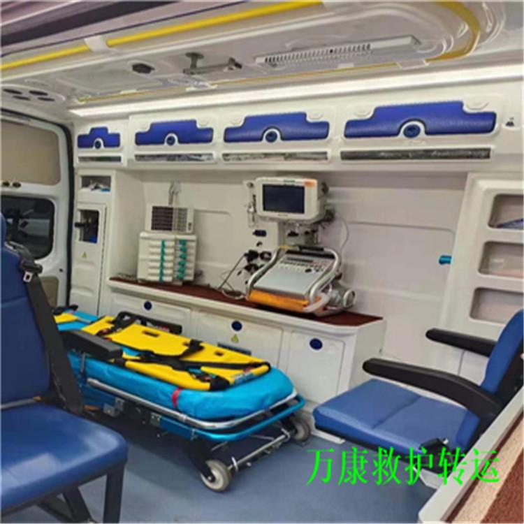 兴安盟救护车送病人回家长途救护车出租8元一公里