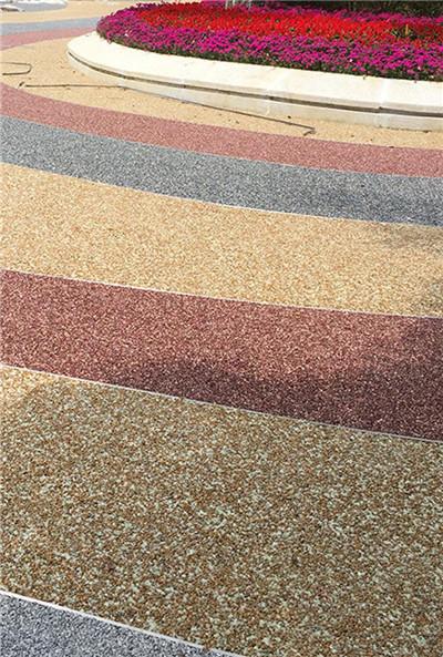 西安水洗石地坪环保美观
