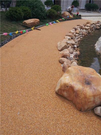 河源胶粘石地坪施工价格-【在线咨询】