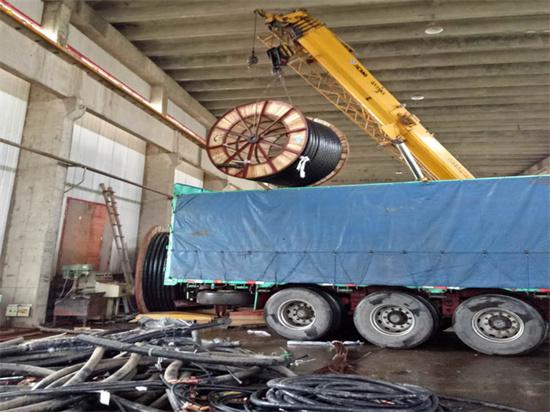 高价:中山通信电缆回收专业拆除团队
