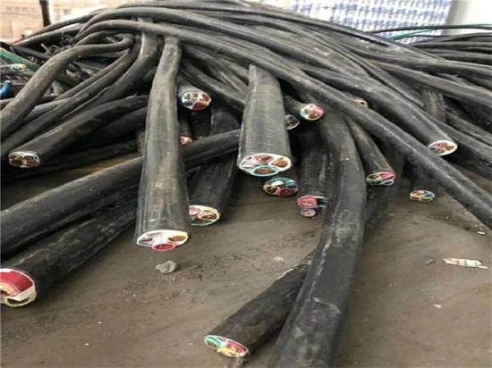 高价:广州南沙区300方电缆回收实时报价