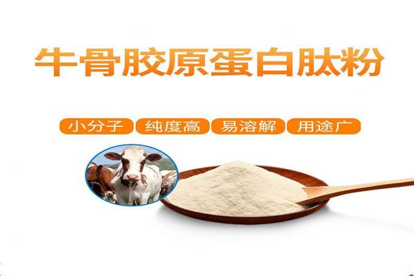 广东江门高纯度牛骨肽粉厂家