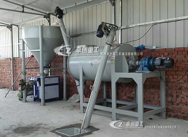 淮安干粉搅拌机在使用过程中不得不注意的事项有哪些【郑州卓创重工】