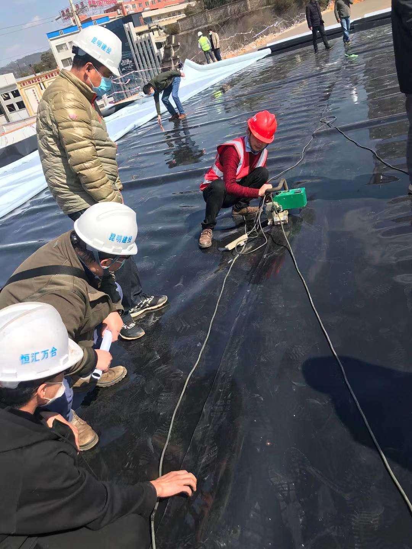 HDPE土工膜集团/公司)宁波哪里有卖鱼塘防渗膜的