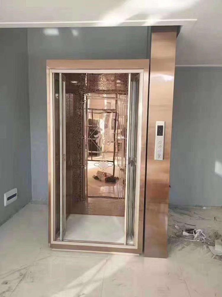 衡水景县无地坑家用电梯测量