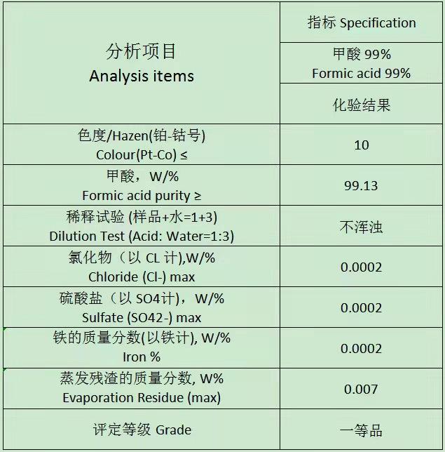 武汉工业级蚁酸价格行情 湖北襄阳化工原料厂家批发