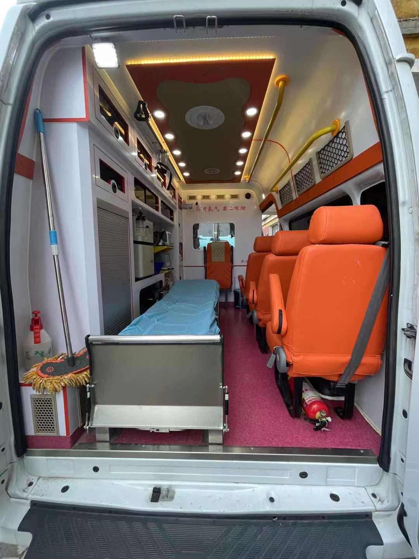 华容区长途120救护车转院—带呼吸机