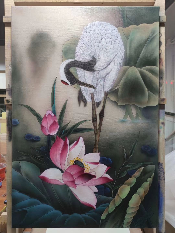 珠海创建文明城市围墙彩绘壁画施工
