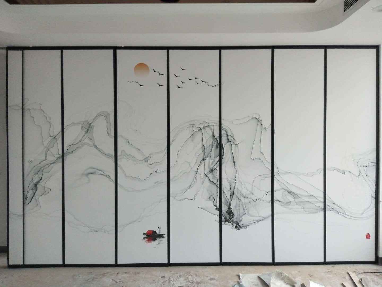 湖北孝感可收藏电动折叠门工厂