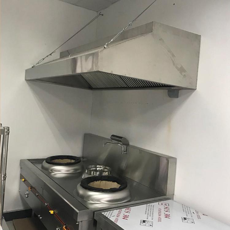 合肥餐廳鋁板排煙罩管道 - 上門設計定做客服熱線