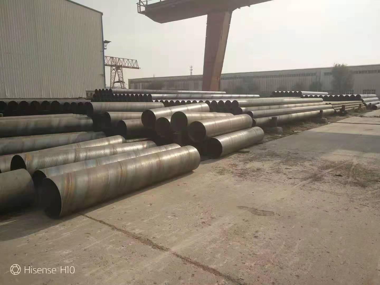 消防用DN500mmQ235B螺旋钢管市场报价