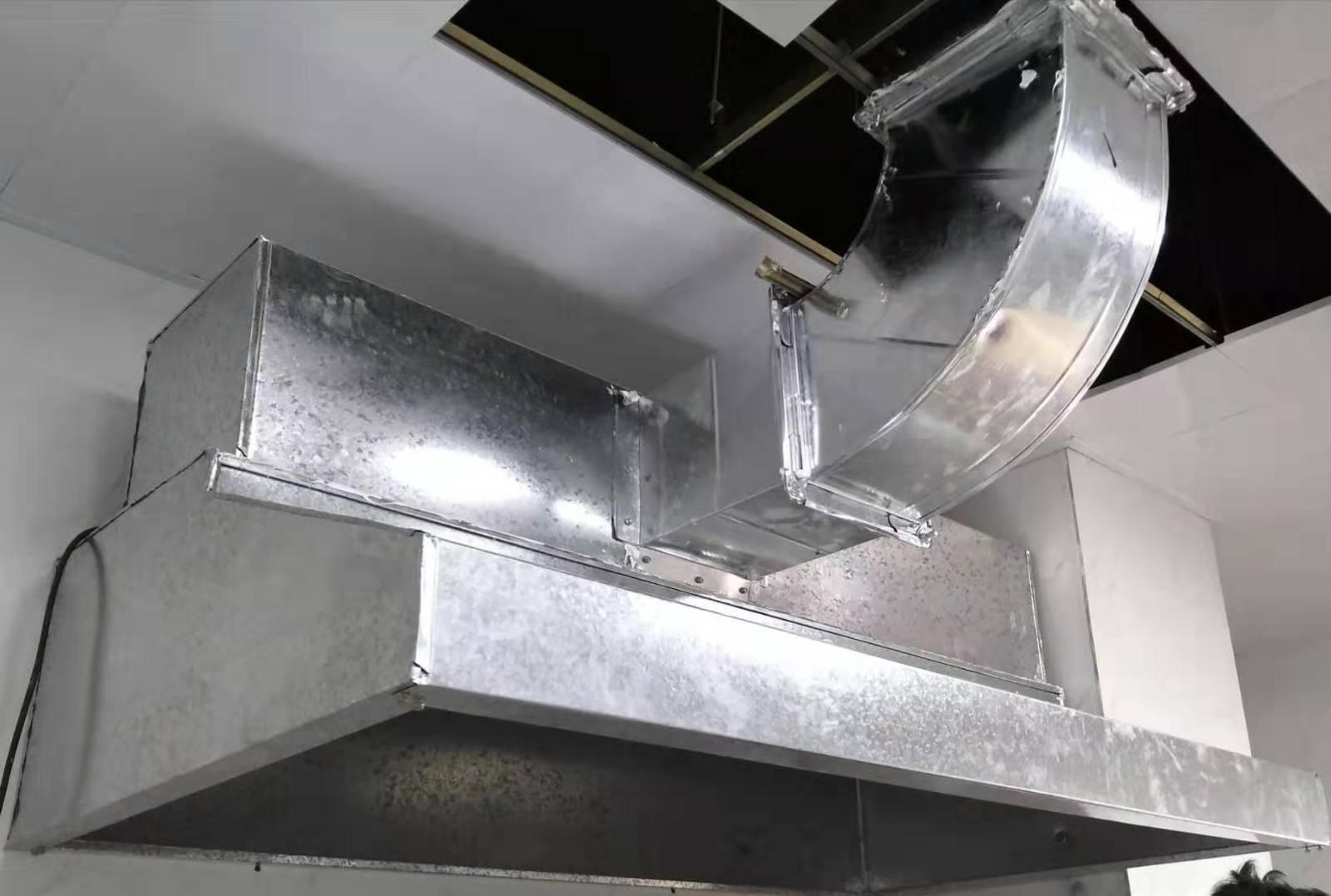 合肥廚房白鐵皮排煙風管 - 上門設計定做公司電話