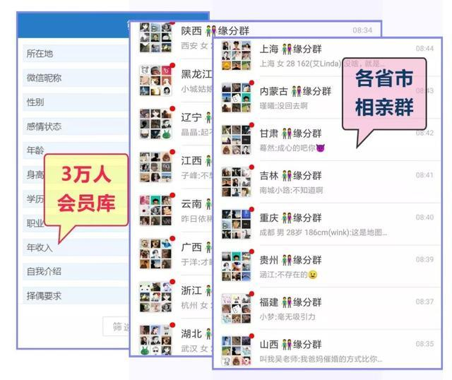 临西县红娘高薪高颜值微信群