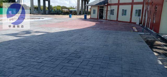 龙文生态透水混凝土施工方法