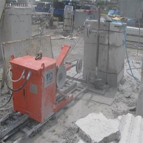 那曲地区线控钢筋混凝土绳锯机挡土墙室内切割机厂家直销