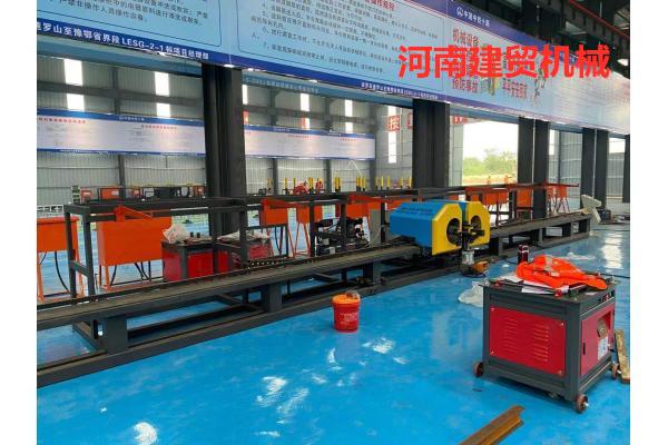 江苏南京自动焊钢筋弯圆机360度自动焊弯圆机-原材