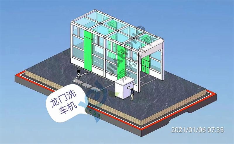 灞桥建筑工地全自动洗车机推荐资讯可靠,大气美观实用