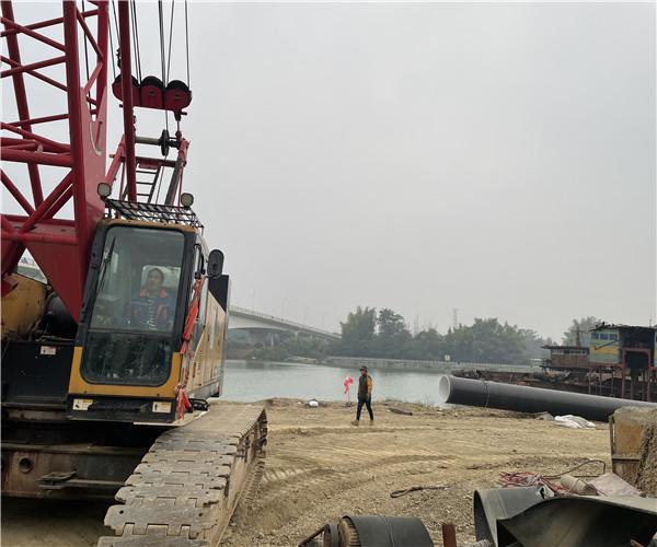广州市水下铺管子公司