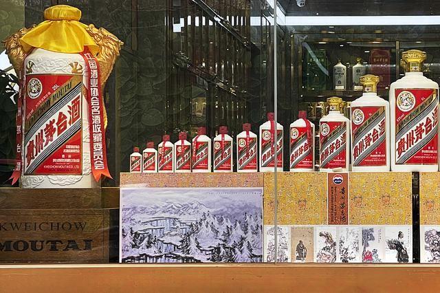 (【(纪念回归十周年)酒瓶回收】葵花茅台酒盒惠州喝空的茅台回收)