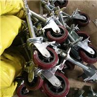 【讲解】承重2吨重型铁芯聚氨酯脚轮实体工厂