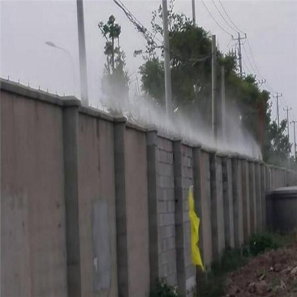 黑龙江富锦高空塔吊喷淋塔吊喷淋降尘保湿系统