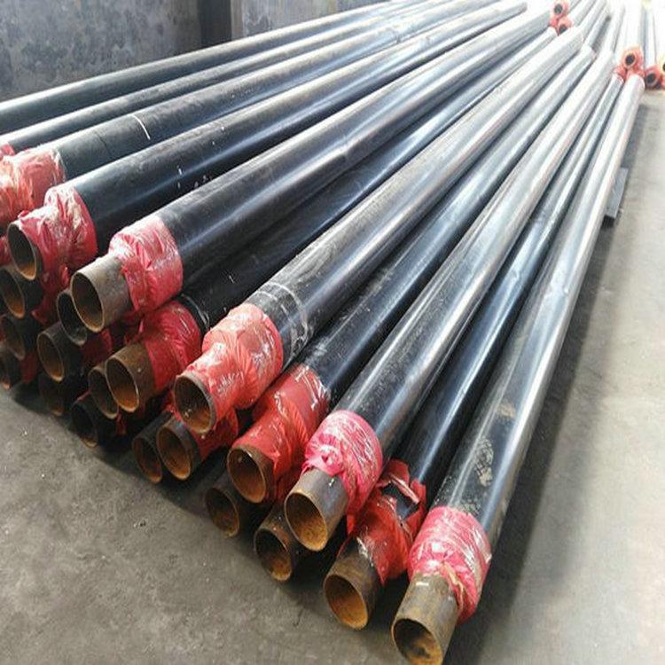 小区供暖用630*8直埋发泡保温钢管生产厂家。
