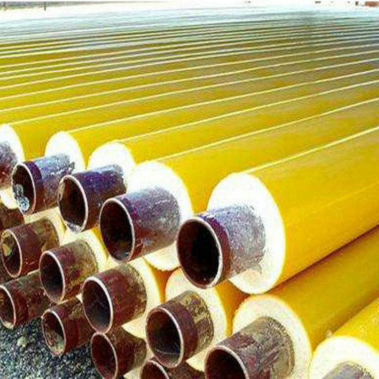 供暖用DN500聚氨酯发泡无缝保温钢管价钱