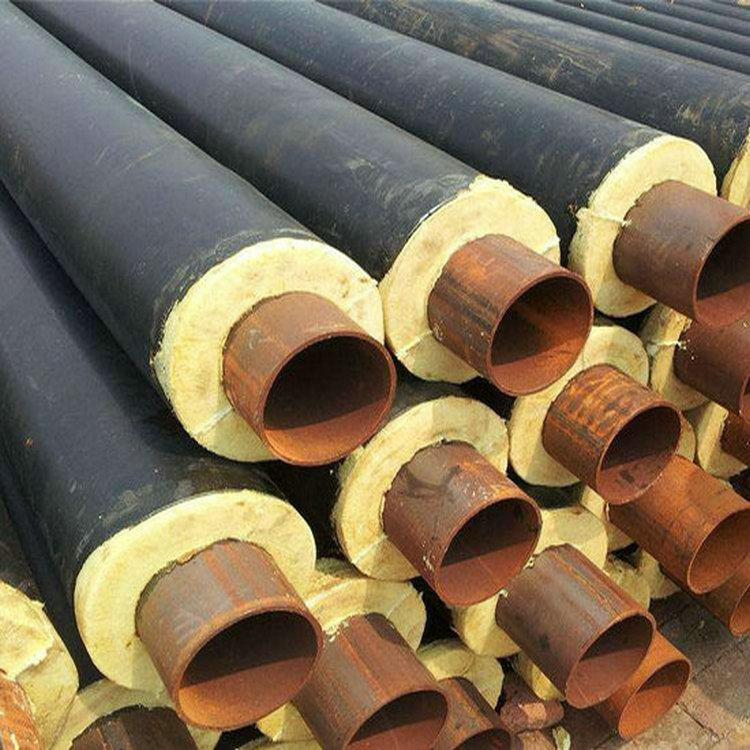 化工地埋熱水輸送用聚氨酯保溫鋼管價錢