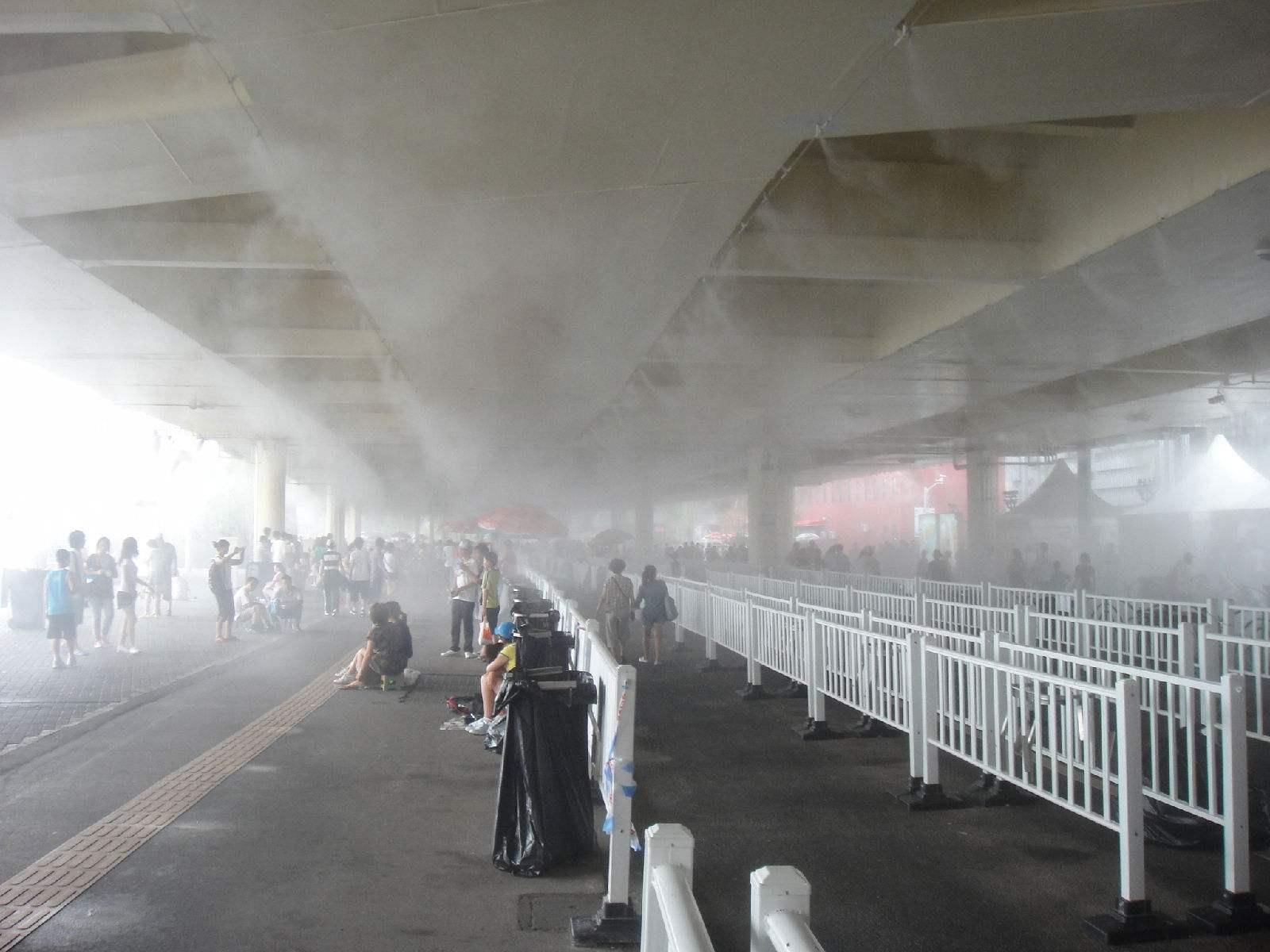 云南昭通高压喷雾降尘设备报价喷雾降尘机便于拆装