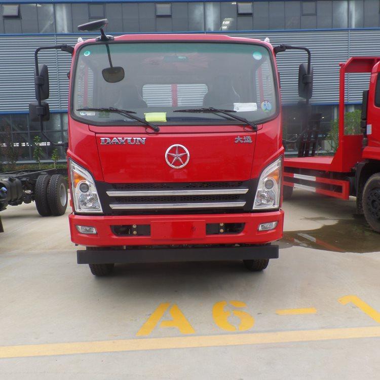 红河金板拖车蓝牌4.2米拖车钩机拖车厂家直销