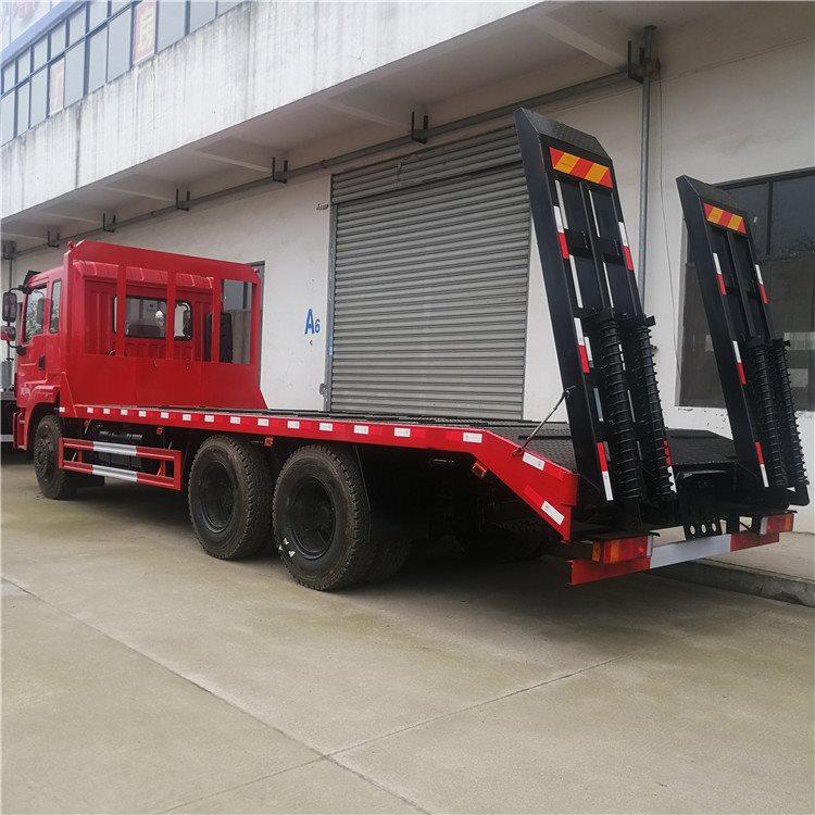 洛阳偃师推土机运输车蓝牌4.2米拖车钩机拖车厂家直销