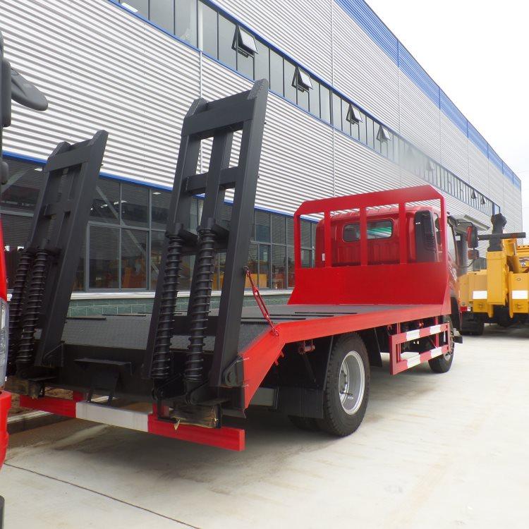 大同矿区推土机运输车蓝牌4.2米拖车钩机拖车厂家直销