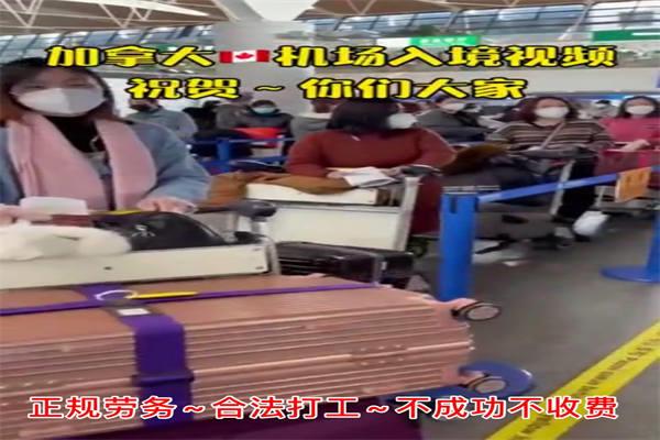 贵州毕节正规出国劳务打工派遣公司、、外企项目都有零费用年45万
