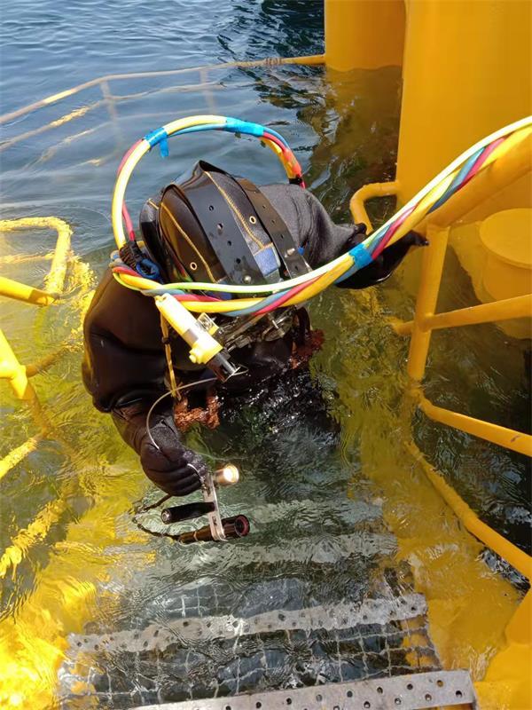 七台河市蛙人潜水公司——潜水作业队伍