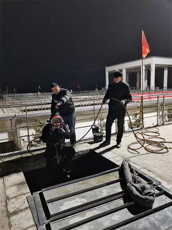 绍兴市水下拆除管道堵水墙——本地水下施工队