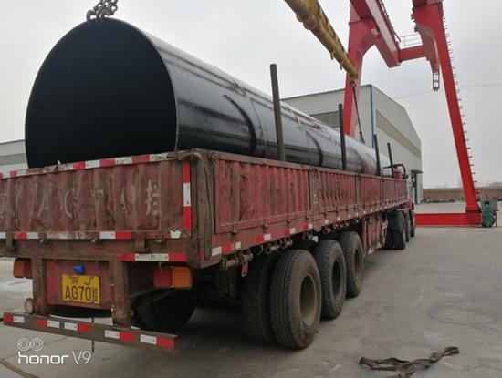 海口美兰-内外防腐环氧煤沥青焊管专业制造厂家