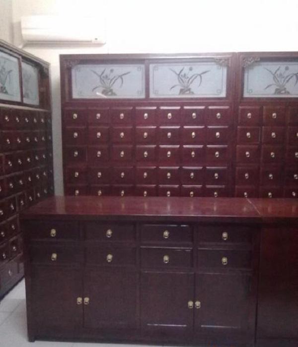 五华抽屉柜实木中药柜安装教程