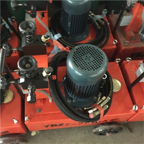 福建漳电动张拉油泵预应力钢绞线穿线机
