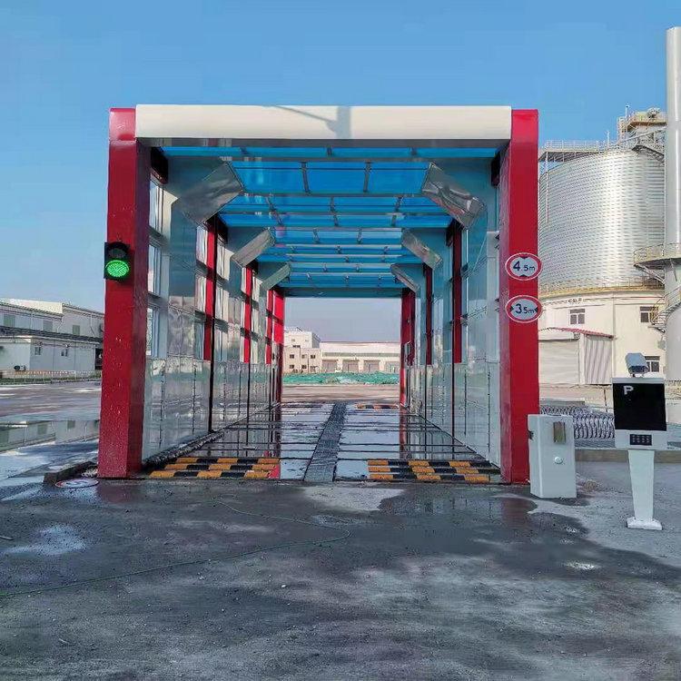 忻府区全自动龙门洗轮机|矿场龙门摇摆洗车机送货上门