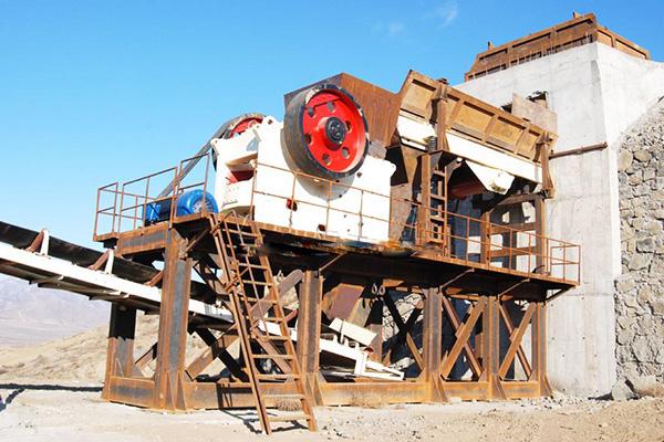 西安区建材石料生产线