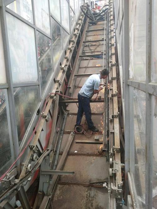 番禺区二手拆除回收商场电梯【拆除安全有保证】