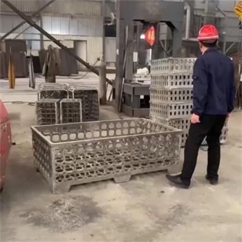 潍坊高密ZG30Cr18Mn12Si2N耐热铸钢件步进梁托架