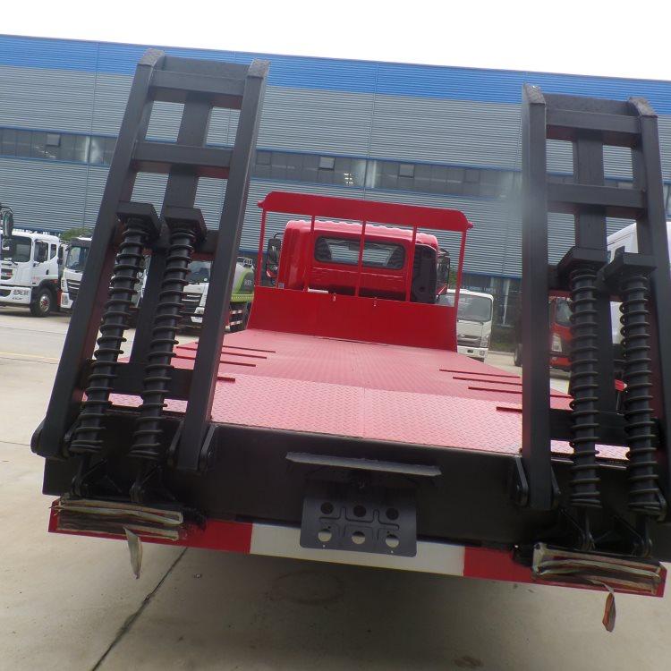 中江东风d8板长5.1米板拖车60挖机拖板车价格挖机拖车询价