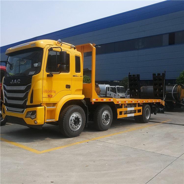 南通海门东风d8板长5.1米板拖车60挖机拖板车价格挖机拖车询价