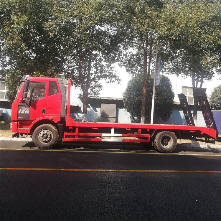 恭城程力低凹挖机板运输车60挖机拖板车价格挖机拖车询价