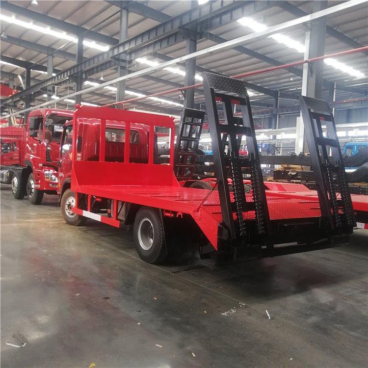 赤峰林西蓝牌4.2米挖机拖车60挖机拖板车价格挖机拖车询价