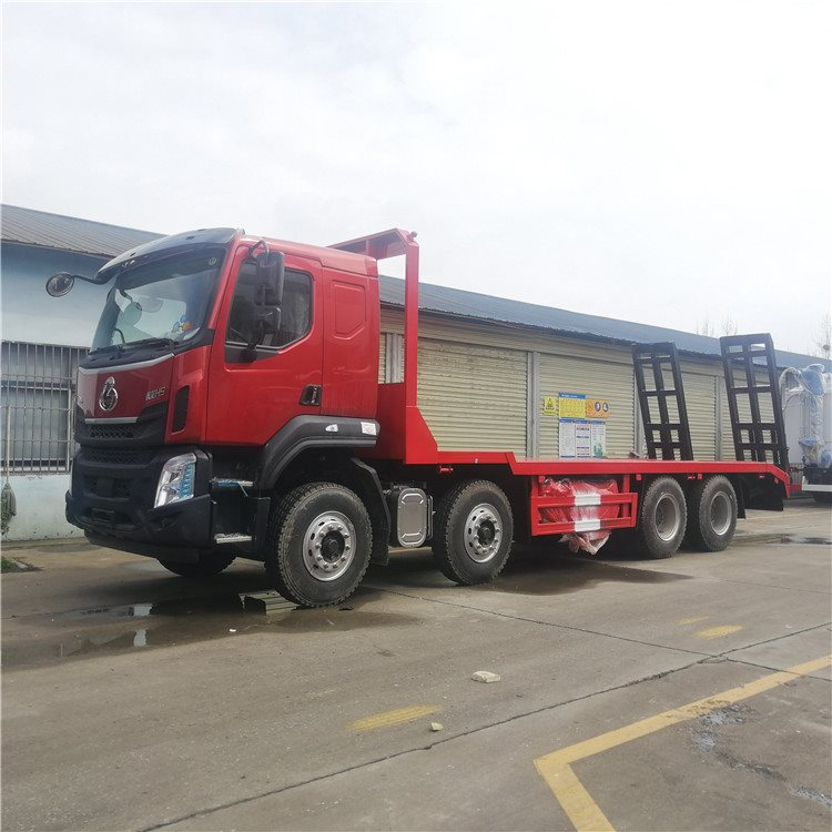贡觉程力低凹挖机板运输车60挖机拖板车价格挖机拖车询价