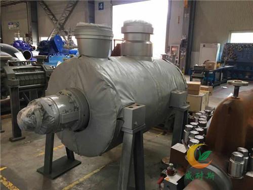 内蒙古赤峰管道防冻保温加热保温被蒸汽管道保温衣