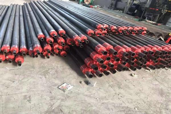 灵石地埋式聚氨酯保温钢管多少钱一米