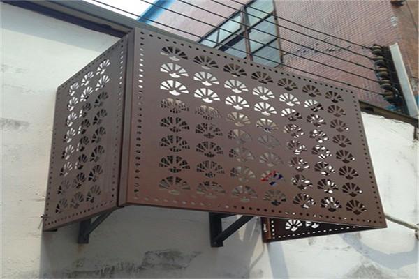 乾县铝合金空调罩专业供货-铝乐生产